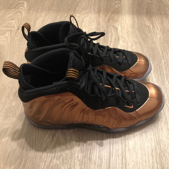 Nike Shoes Bronze Foamposites Poshmark